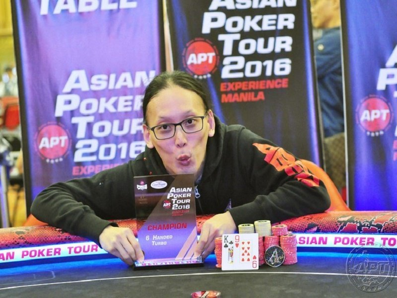 Japan's Iori Yogo takes the lead in the APT Player of the Year 2016 standings