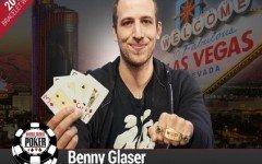 Benny Glaser 2016 World Series of Poker 1