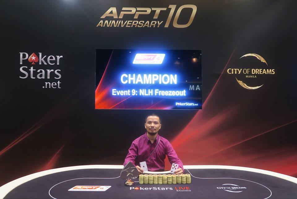 Van San Nguyen (Photo PokerStars)