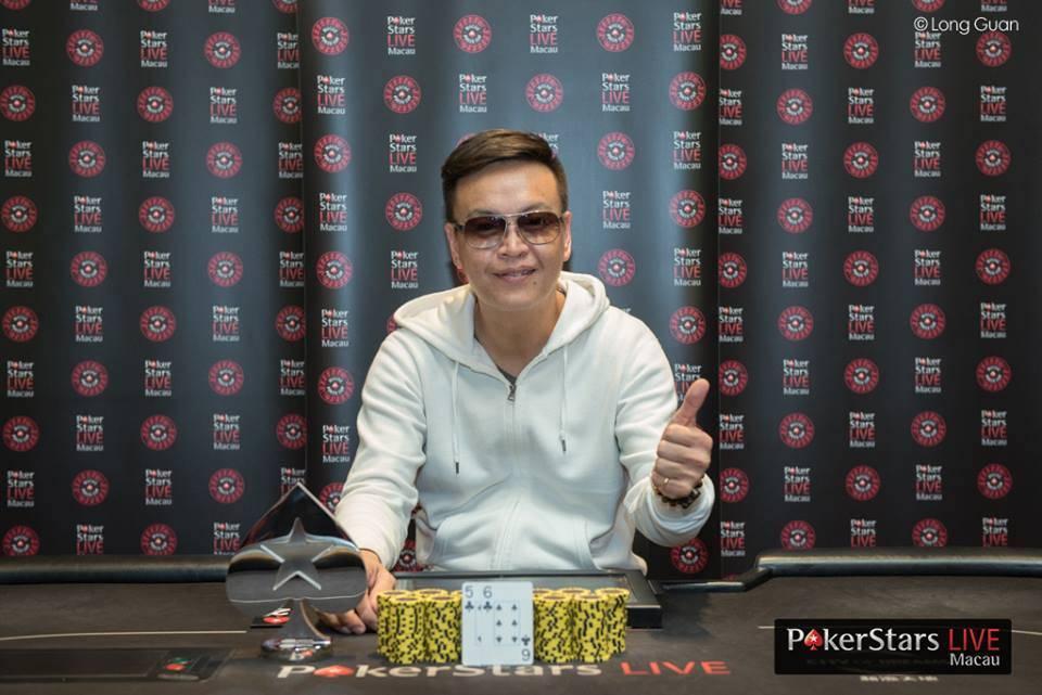 Hwang Yong (Photo Long Guan Courtesy of PokerStars)