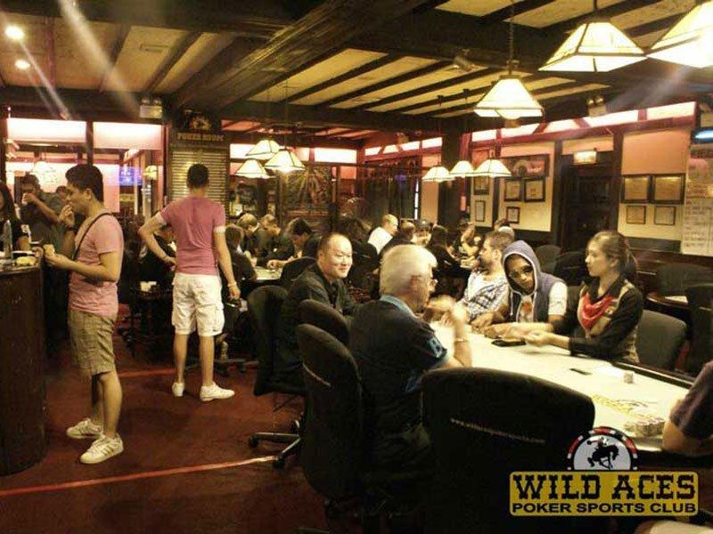Wild Aces poker sport club 1