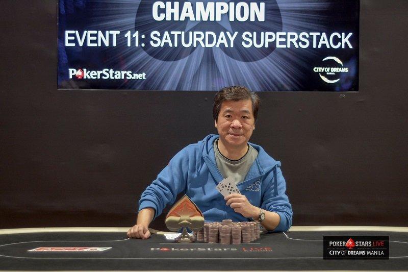 Bernard Chua (Photo Pokerstars)