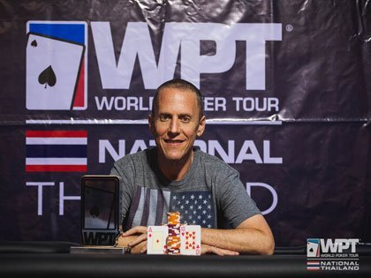 Andres Korn triumphs in first ever WPT National Thailand