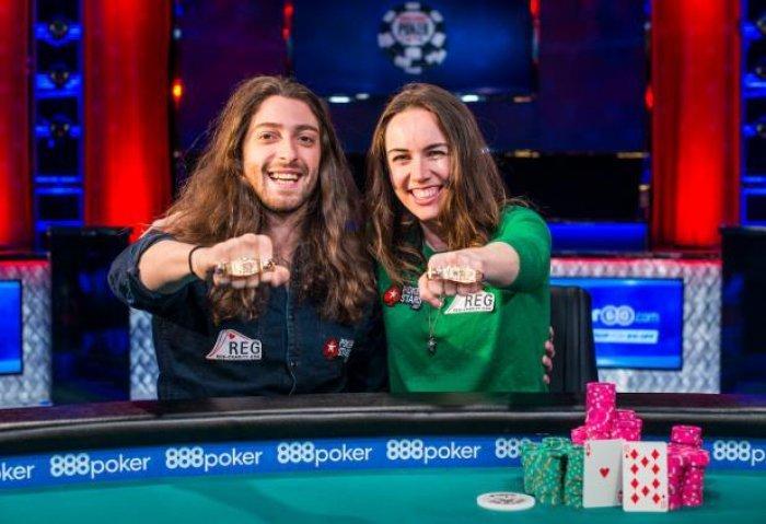 Igor Kourganov and Liv Boree - Photo WSOP