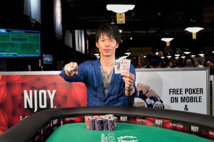 Takahiro Nakai - Photo WSOP