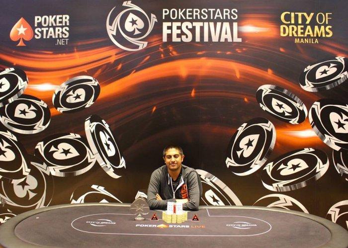 Viren Kapur - Photo Long Guan Courtesy of PokerStars