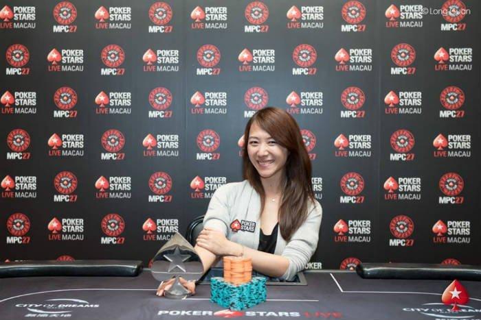 Celina Lin - Photo Long Guan Courtesy of PokerStars