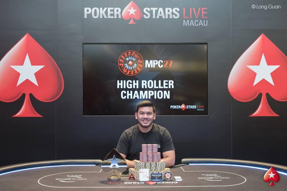Michael Soyza - Photo Long Guan Courtesy of PokerStars