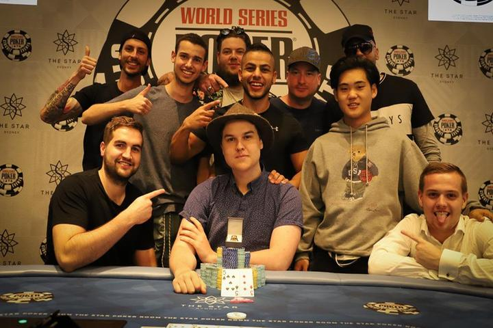 Johan Lees wins the Opening Event for A$105,416   Star Poker©