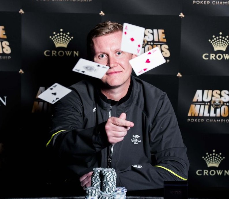 Ben lamb - Photo Crown poker