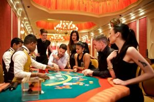 Players around the poker table