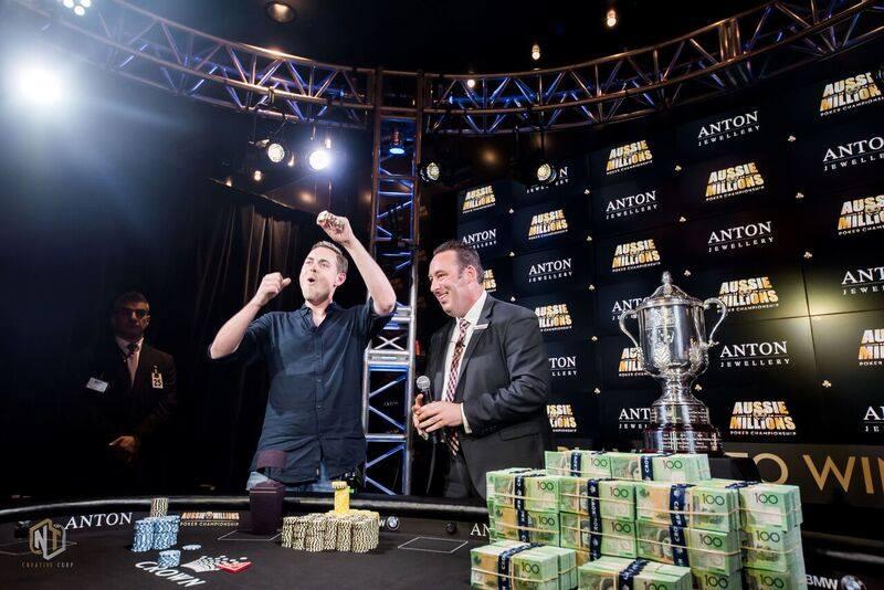 Toby Lewis - Crown Poker