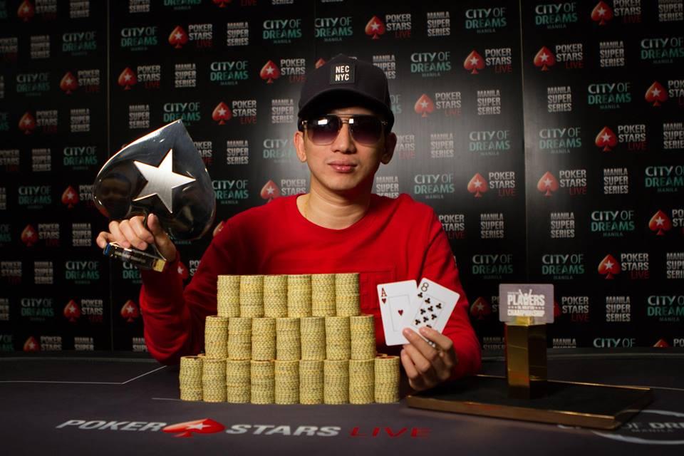 Mike Takayama - Photo PokerStars Live Manila