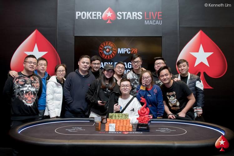 Siyou Cao - Photo Kenneth Lim, Courtesy of PokerStars