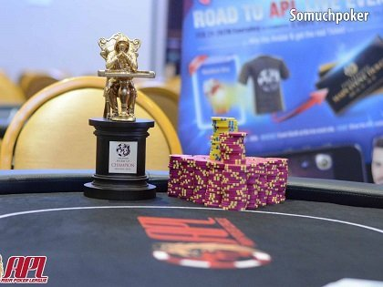 A milestone for Asia Poker League's inaugural event in Pampanga, Philippines
