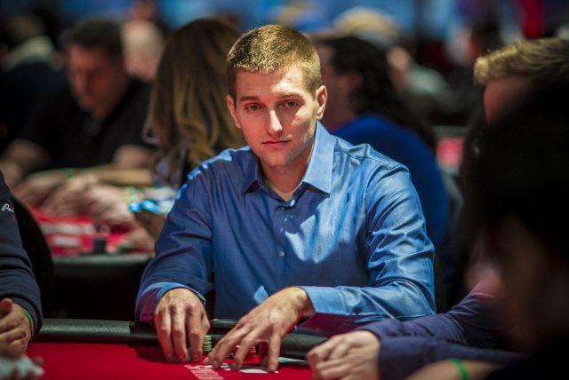 Tony Dunst playing poker