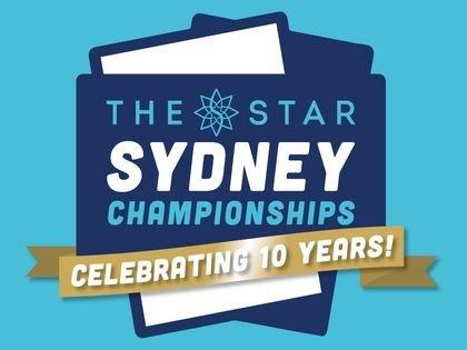 The Star Sydney Championships 2018 Schedule