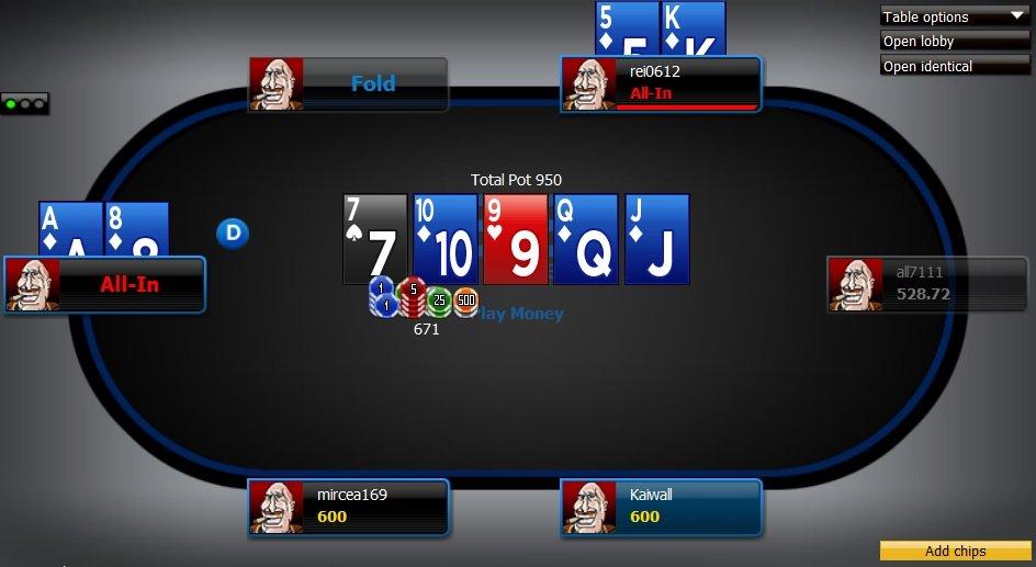 888poker table