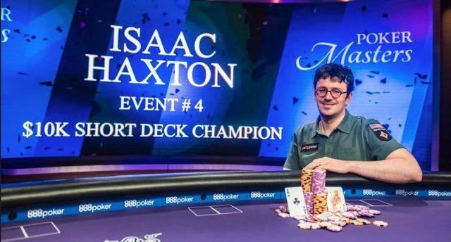 Isaac Haxton winning at Poker Masters