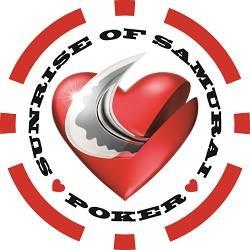 Sunrise Of Samurai Poker Logo
