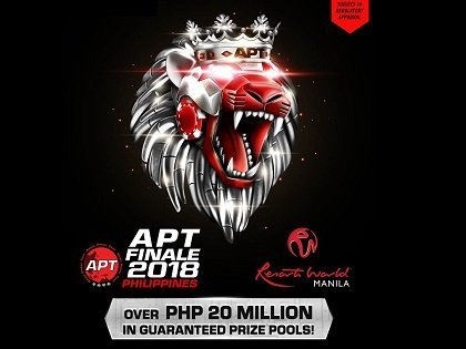 Asian Poker Tour season finale at Resorts World Manila with PHP 24 Million in Guarantees