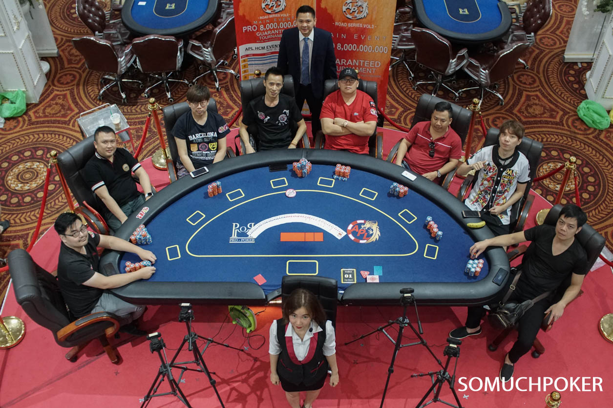 APL HCMC Main Event Final Table- Live Updates
