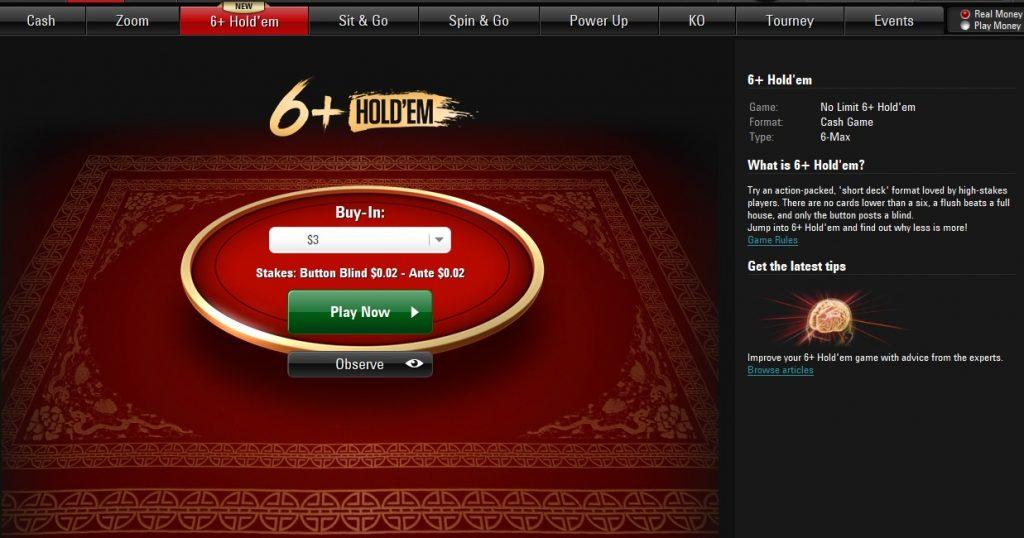 PokerStars 6