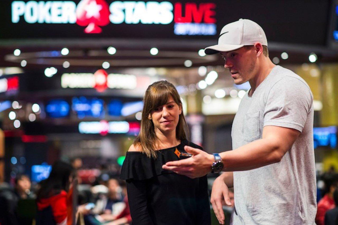 Alex Foxen and Kristen Photo PokerStars Live Macau