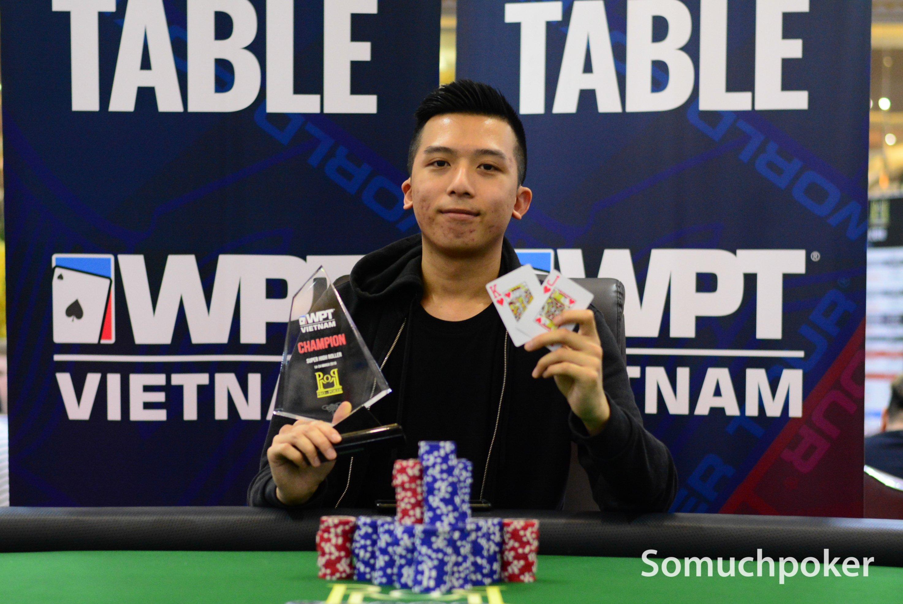 WPT Vietnam: Wayne Heung ships the Super High Roller; Macaron Tran, Pang Choyi, & Le Ngoc Khanh win events