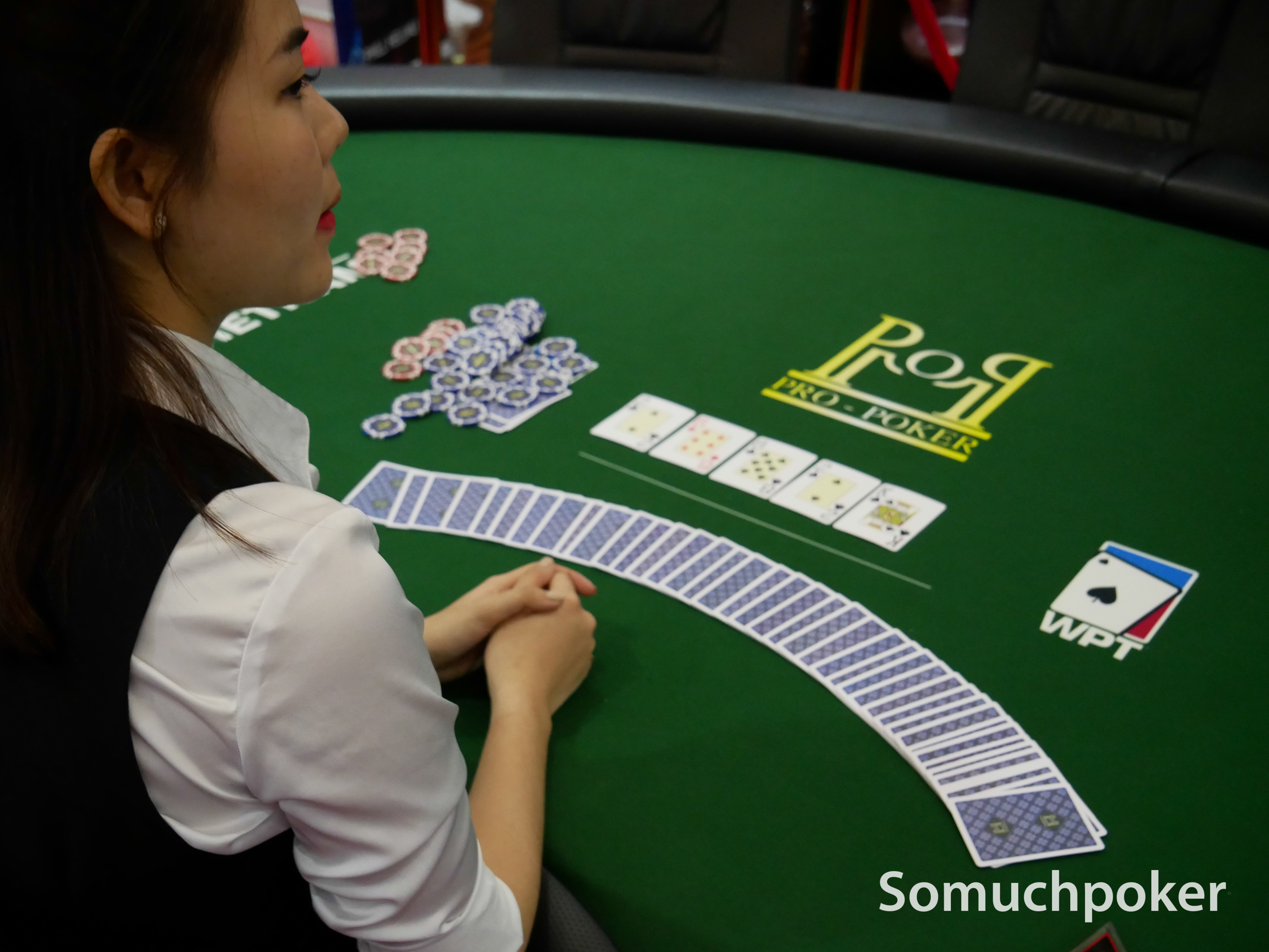 WPT Vietnam Main Event Day 2 Draw and Chip Count