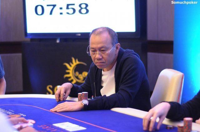 Paul Phua playing poker
