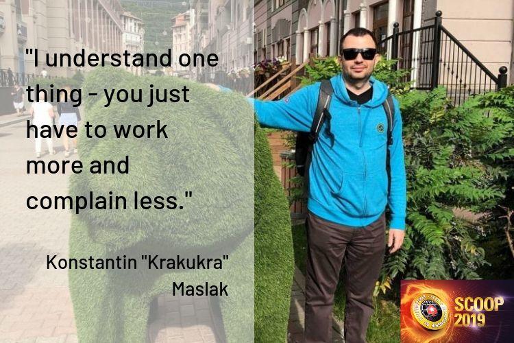 Konstantin krakukra Maslak