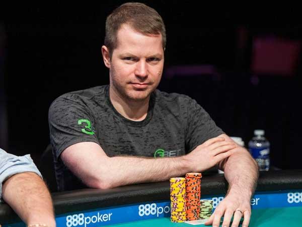 Jonathan Little playing poker