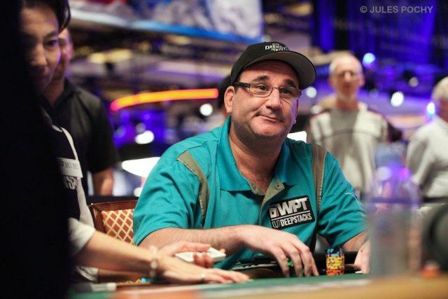 Mike Matusow playing poker