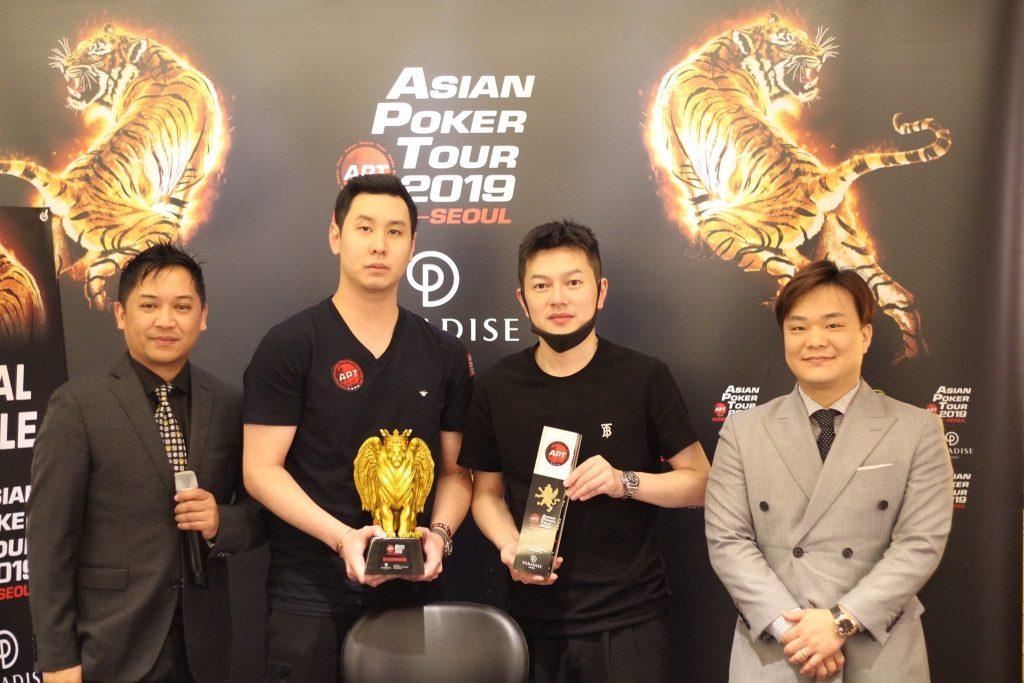 Winner and runner up