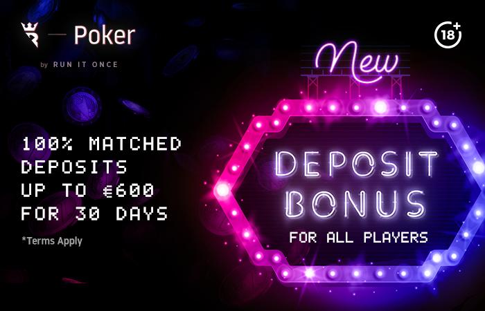Run it Once Deposit Bonus
