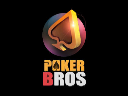 pokerbroslogo black