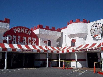 Poker Palace Casino Las Vegas building