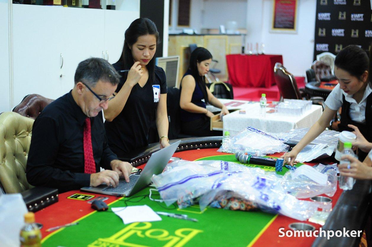WPT Vietnam Season XVIII - Main Event Day 2 - Seat Draw