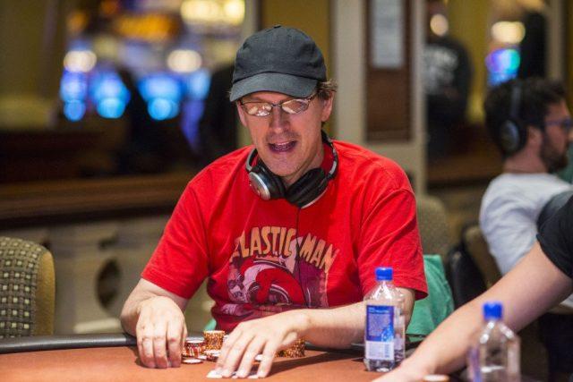 Phil Laak playing poker