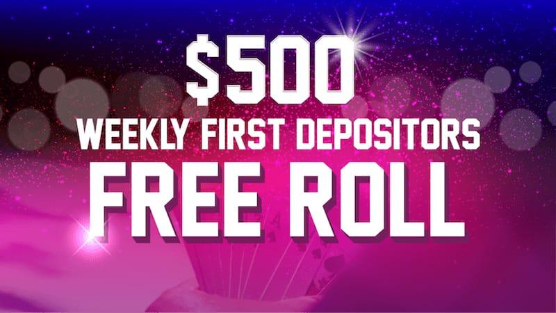 1first depositors freeroll