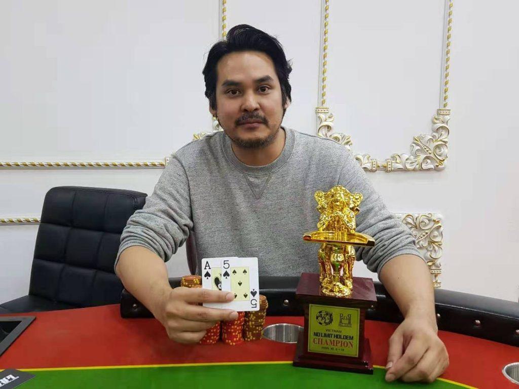 NLH champion Wanchana Valaikanok