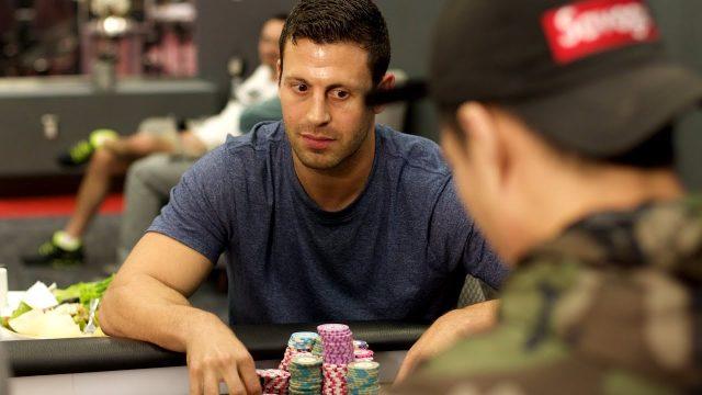 Garett Adelstein playing poker