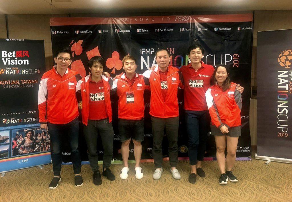 Team Singapore Sponsored by BetVision