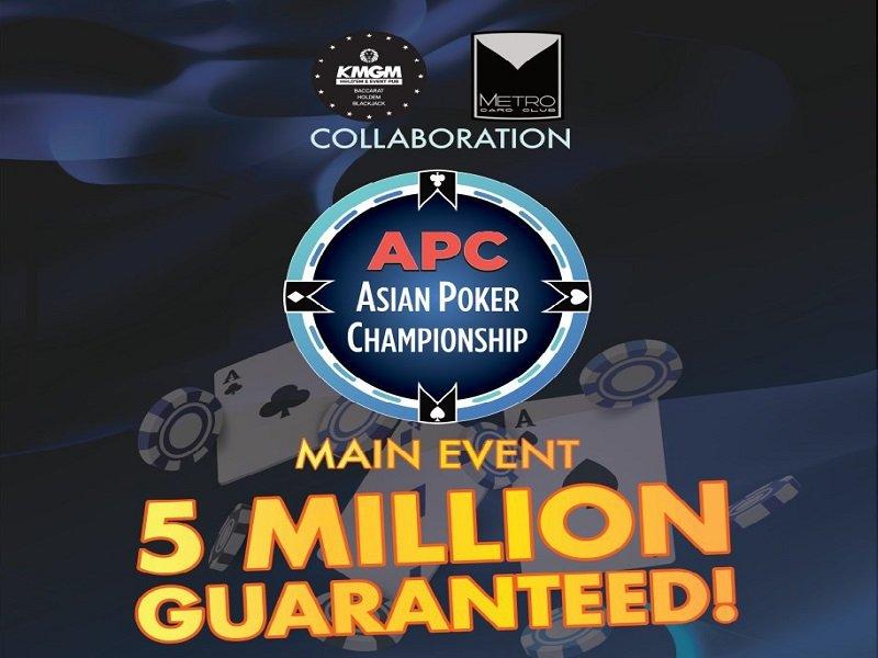 Metro Card Club Asian Poker Championship 2020 Schedule