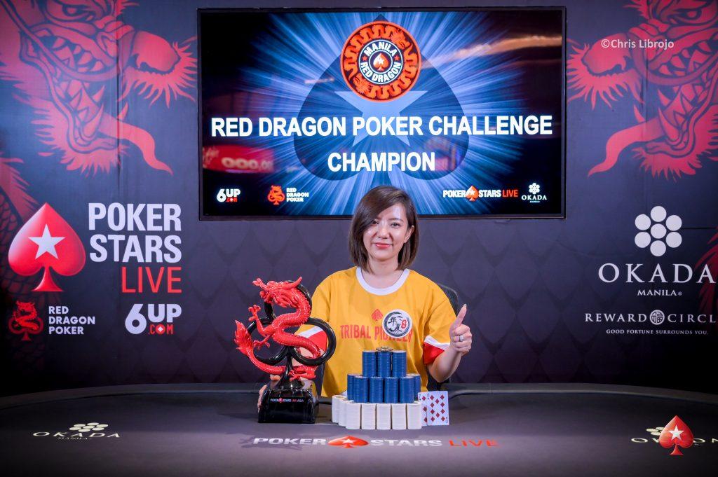 Event 16 Red Dragon Poker Challenge Winner