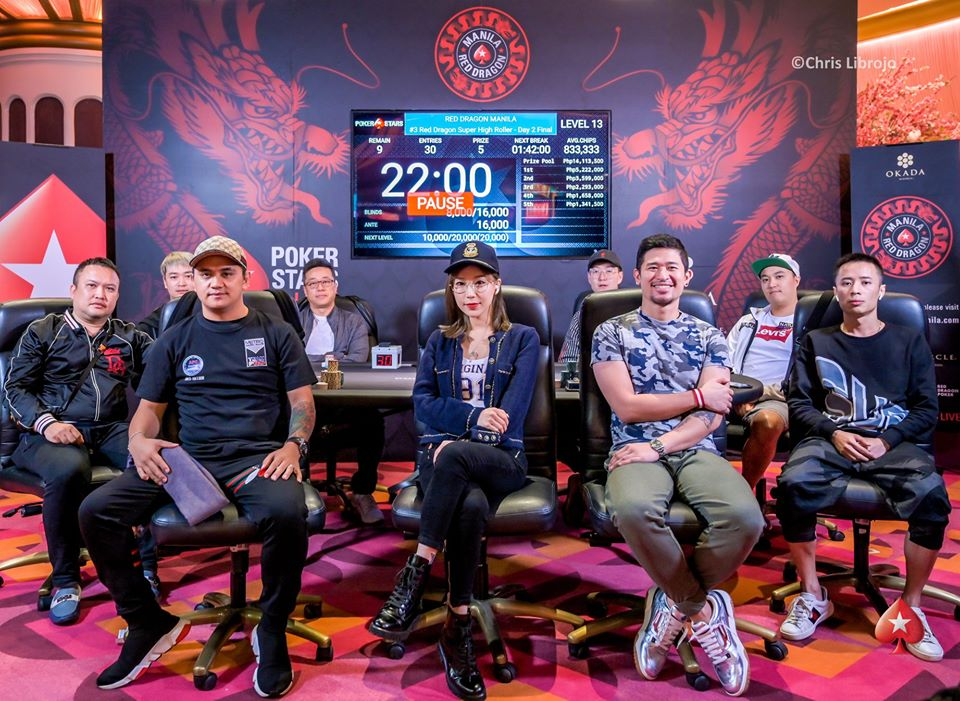 Final table Red Dragon