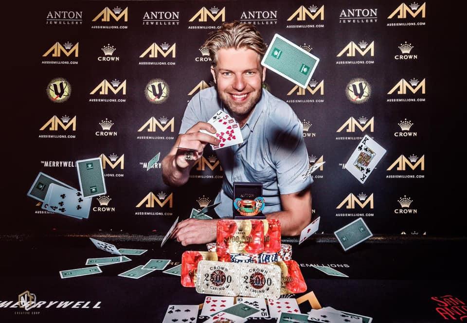 Aussie Millions 2020: Jorryt Van Hoof, Toby Lewis and Jussi Nevanlinna lock up titles
