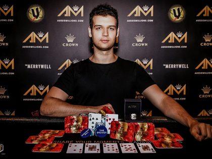 Michael Addamo Aussie Millions 50K