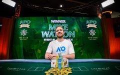 Mike Watson Wins Event 1 Australian Poker Open ATA 0987